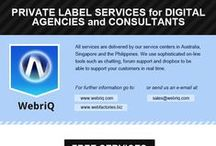 WebriQ Products and Services / Everything you ever wanted to know about our products and services.