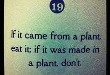 bloom where you're planted / plant based diet info