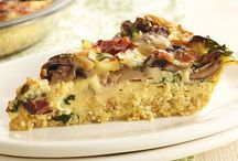 Diabetic Friendly Breakfast Recipes / No pastries here -- substantial quiche, bacon, egg dishes / by Laura Jinkins