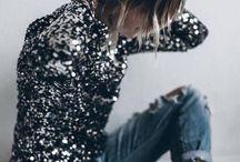 LOOK >> Sequins Glitter Strass