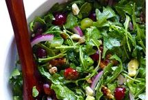 arugula salads / by cindy sachdeva