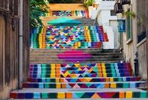 artistes des rues / Quand on a ça dans nos villes! c'est trop beau!