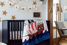 Pirate nursery baby boy