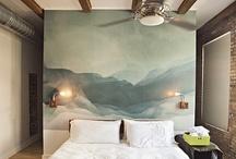 wall treatments / wall treatments / wallpaper  / by Lyndy