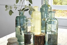 Bottles of Light / Old, shiny or funky, glass bottles so full of light and life. / by Kate Nixon