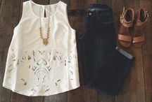 Fashion Sense / All the clothes I wish I owned!  / by Lauren Mellott