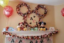 Birthday Party Ideas - Mickey mouse