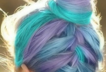 Hairstyles<3 / Beautiful hairstyles and colors<3✄ Tie it up, braid it down. Wear your hair like a crown ♚ / by Ashley<3