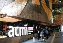 ACMI / Venture inside the Australian Centre for the Moving Image, located inside the heart of Melbourne's meeting place, Federation Square, to discover a globally unique cultural centre. This distinctive centre offers a suite of unique multi-faceted spaces, from stateof-the-art cinemas to a studio, The Cube and Lightwell function spaces. This venue provides the ideal location for conferences, forums, launches and special events tailored to your needs.
