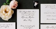 STATIONERY & INVITATIONS / Say what you need to say beautifully.