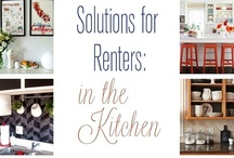 Decorating For Renters / The challenge of making a rental space your own: PATTERN, COLOR, STORAGE, and PERSONALITY