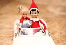 Elf on the Shelf / Lots of Elf on the Shelf ideas and inspirations along with tutorials!