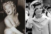 Jackie O and Marilyn Monroe / by Stefy Madrigal