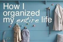 Be Organized / Home organization | Organization tips | Get organized | Organization systems | Reduce clutter | Clutter-free