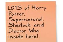 Geeky Goodness :) / LOTS of Harry Potter, Supernatural, Sherlock, and Doctor Who inside here!