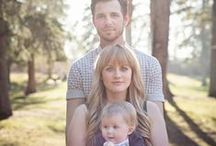 Family Photos / Ideas for family photos.  Poses, locations, and what to wear! / by Morgan |  Modernly Morgan