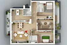 Casas en planos