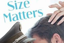 Size Matters (Classy 'n' Sassy Book 2) / SIZE MATTERS is the forthcoming sequel to the hilarious TRY ME ON FOR SIZE, from Simon and Schuster's Pocket Star Imprint. Due out June 2015! / by Stephanie Haefner- Author