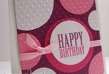 Tarjetas - Cumpleaños