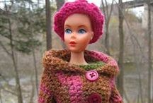 Crochet Fashion Doll Clothing / Clothing for Barbie, Monster High, Tree Change and Bratz dolls