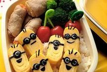 Bento Box - Kids / Bento Box lunch ideas for kids. / by Morgan |  Modernly Morgan