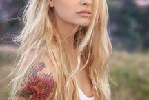 Tattoo / Tattoos, hair and makeup.