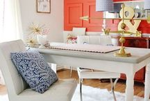Chic Home Office Ideas / Stylish office inspiration, tips, tricks and ideas for a fabulous office!