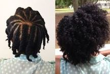 Natural Hairspiration / The Versatility of Naturally Curly Black Hair