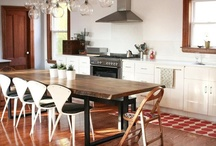 Modern Steel Legs / The perfect mix of rustic and urban design made by the Lorimer Workshop