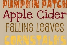 Fabulous Fall / Holidays and Events / by Becca Winter-Martin