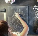 Chalkboard Weddings / Wedding Trend that keeps on going .. all things chalk!