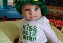 st patricks day! / The wearin and sharin of the green.  We are all a little Irish on St. Patrick's day.  If you would like a custom Irish design (yes O'Malley, we can do your name too)  just contact the designers at Perfect Postage.  We'll be glad to help!