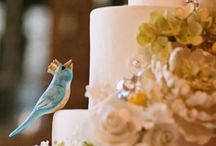"""Weddings with wings ... / If you are having a """"love bird"""" theme wedding, or just love birds, this board features some great ways to incorporate these winged ones in your wedding.  Need a custom design with love birds or a birdcage?  Just let us know - we'll be glad to help."""