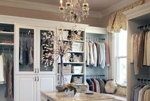 c l o s e t s / Inspiration for closet design & organization.