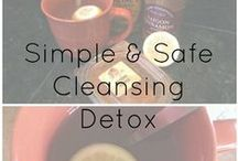 Detox and Cleanse the Body / Ways to start fresh after giving in to eating the things that are convenient  / by Holly Varvel-Clark