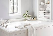 Bathroom Ideas / Design ideas for master suites & guest bathrooms.