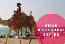#DomDoesDubai / My husband Kolter and I recently moved to Dubai to pursue new job opportunities. Follow along on our life as Canadian expats out here in Dubai, in our weekly vlogs & blog posts