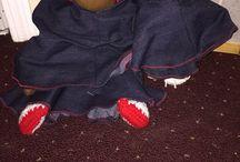 My Faceless Dolls / Cloth dolls and crochet dolls