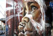 grafitti & streetart / by Hella Gelbach