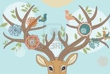 Deer tattoo ideas / Inspiration for my 10 year vege-versary tattoo.