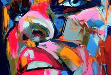 Art - Nielly Francoise / Work by the artist Nielly Francoise.