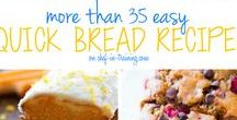Breads / Easy & homemade bread recipes! Every type of bread recipe you could ask for! Get recipes for loafs, rolls, sweet breads and much more!