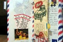 Art Journal/Sketchbook / Sketchbook, art journals, creative ways to record creative ideas.