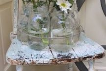 Repurposed Furniture / Furniture that has been repurposed or upcycled. So of these items are truly amazing! / by Debbie Patterson (Laughngypsy.etsy.com)