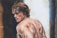Jamie and Claire - Outlander Art / by Sirio