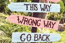 Wood Signs & Decor / My favorite wood signs! / by Debbie Patterson (Laughngypsy)