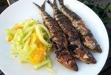 Recepten Vis / De lekkerste recepten met vis en zeevruchten, uit onder andere de kookboeken Nijmegen Kookt deel 1 en 2, met ingrediënten van een Nijmeegse specialist en/of speciaalzaak.