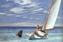 Art - Edward Hopper / The drawings and paintings of american artist Edward Hopper