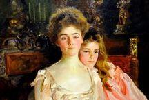 Art - John Singer Sargent / The drawings, watercolors, and paintings of John Singer Sargent.