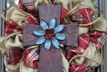 Crafty: wreaths / by Mandi Thomas